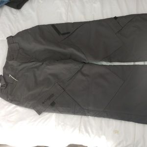 Columbia vertex Gray ski snow pants size 14/16
